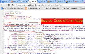 html-meta-tag