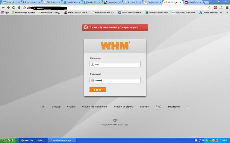 webhosting-manager-login